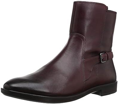 Ecco Damen Stiefel SHAPE 15' schwarz Größe:40 Leder   Textil