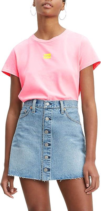 Camiseta Levis Graphic Surf Rosa Mujer S Rosa: Amazon.es: Ropa y accesorios