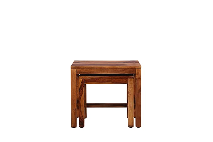 Erwin Solid Wood Nesting Tables Set of 2 by HOMETOWN