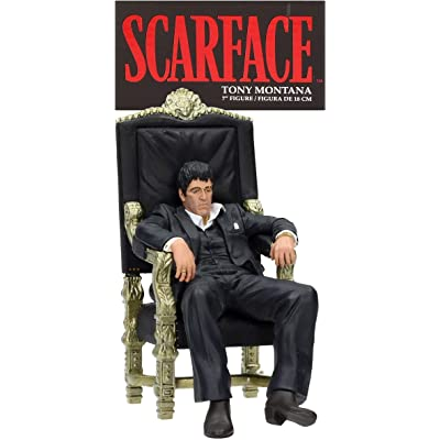 "SD toys Movie Icons Scarface: Tony Montana Throne 7"" Figure: Toys & Games"