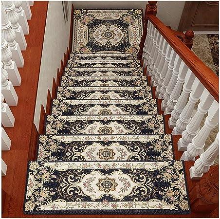 Alfombra de escalera , Autoadhesivas sin Adhesivo Pegatinas Antideslizantes de Escalera de Piso Alfombras Tapetes Protectores,Fácil de limpiar y fácil de limpiar. (Color : Style 2 , Size : 10pieces) : Amazon.es: Hogar