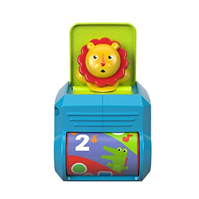 Fisher-Price Spin 'n Surprise Lion: Toys & Games