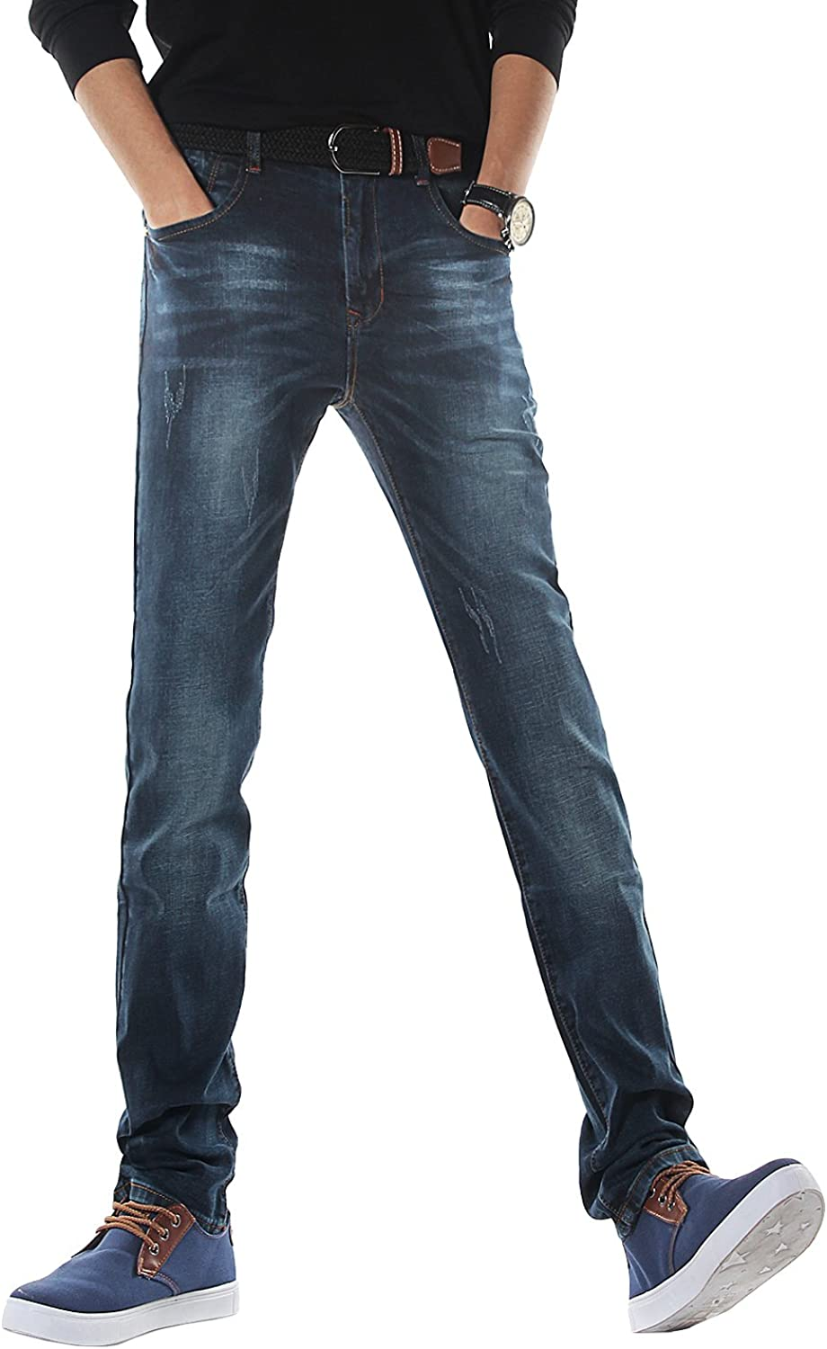 Demon&Hunter Men's Slim Fit Jeans Stretch S30S3