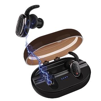 Auriculares Bluetooth Inalámbrico, Nexlook TWS Auriculares Deportes Estéreo en oreja IPX7 resistente al agua para