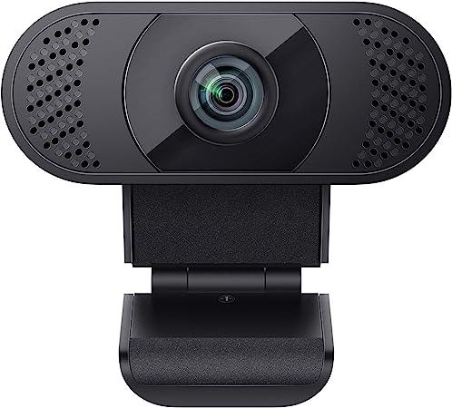 WANSVIEW Webcam 1080P with Microphone, Webcam USB 2.0: Amazon.de: Computers & Accessories