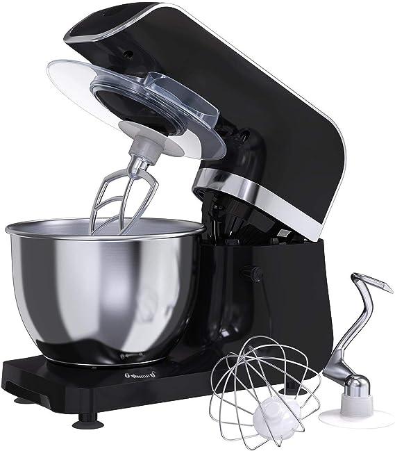 Amasadora Batidora MLITER, Robot de Cocina, 800W, Bol de 4.0L ...