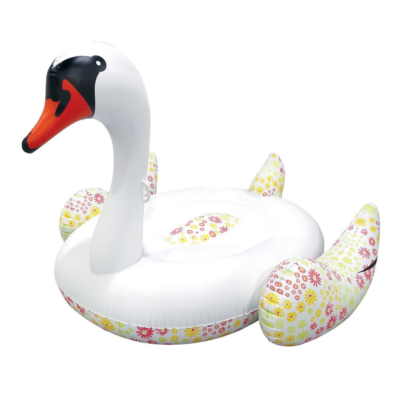 Amazon.com: Su gran piscina flotador con forma de cisne (con ...