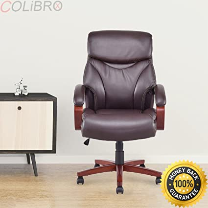 Amazon.com : COLIBROX--Ergonomic Office Chair Deluxe PU&PVC Leather on office table and chairs, office desk chairs, office chairs for bad backs, office accessories, office chairs product, office conference,