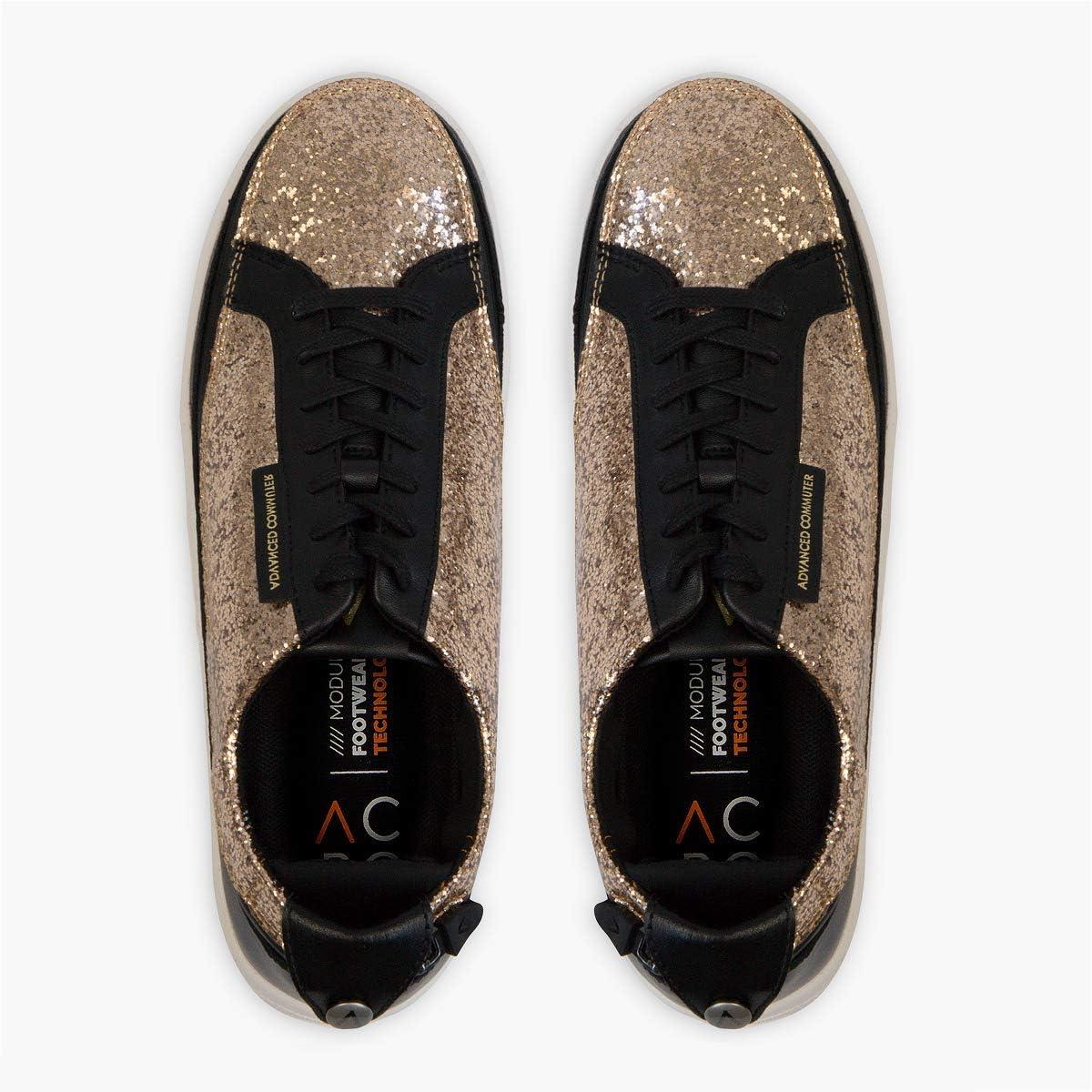 ACBC sneakers, bovenmateriaal compatibel met zool, personaliseerbare en originele schoenen voor reizen, sportschool en vrije tijd Gold Glitter wDvfAIKu