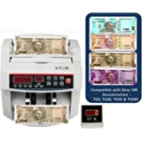 STOK ST-MC01 Notes Counting Machine with FakeNote Detector for Old and NewNotes