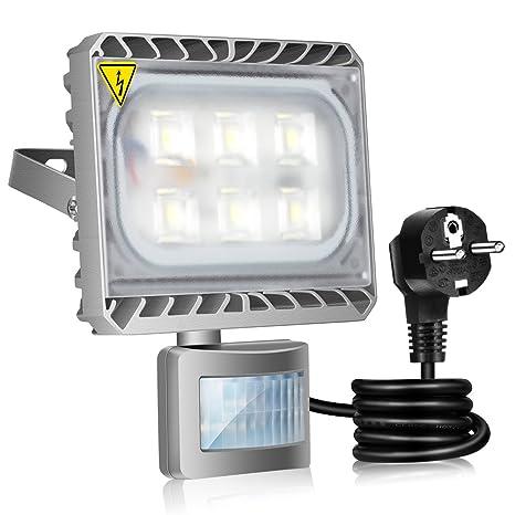 GOSUN® 30W Blanco Frío LED Foco Proyector Luz, Foco proyector con iluminación LED y
