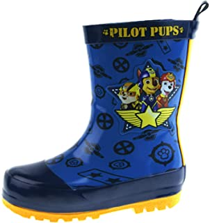 ae14f3c4798 Paw Patrol Character Shield Boy s Wellies  Amazon.co.uk  Shoes   Bags