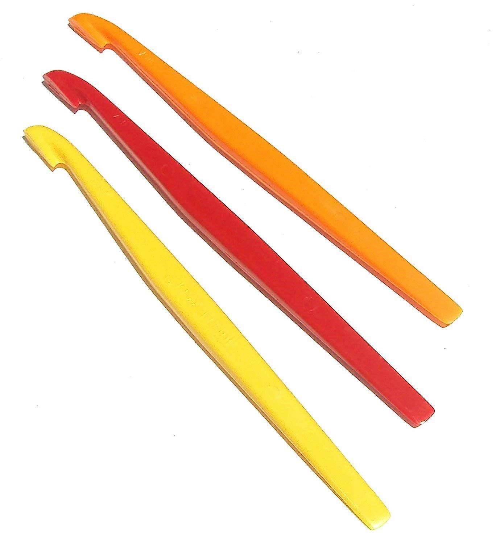 Set of 3 Tupperware Citrus/Orange Peeler  Red Yellow Orange