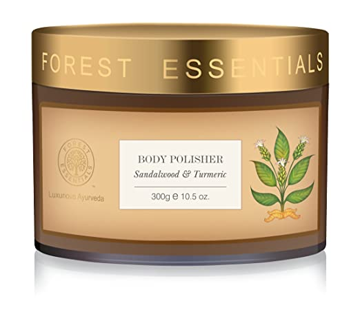 Forest Essentials Body Polisher Sandalwood & Turmeric