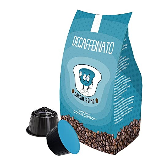 96 Nescafé Dolce Gusto cápsulas de café compatibles - Mezcla Descafeinado - Capsulissima - FRHOME