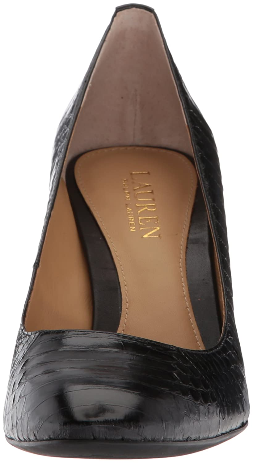 Lauren by Ralph Lauren Women's Maddie US|Black-1 Pump B076DB4V71 8 B(M) US|Black-1 Maddie 8c0b40