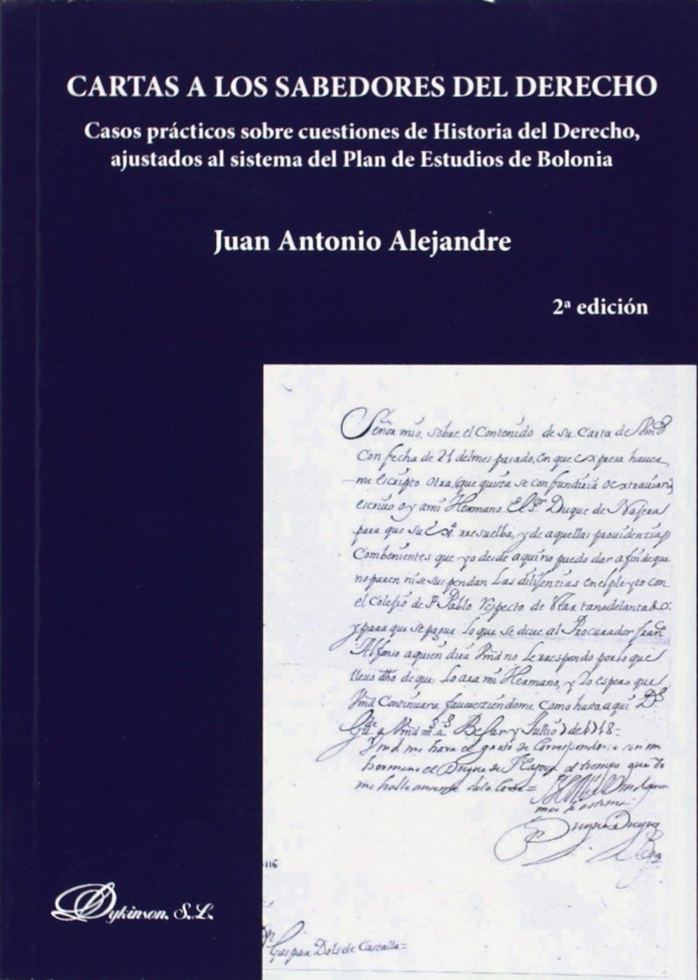 Cartas a los sabedores del derecho (2ª ed.): Amazon.es: Juan ...