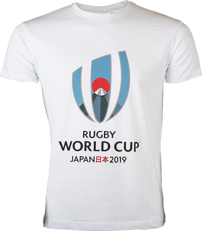 Camiseta RUGBY WORLD CUP 2019 - Colección Oficial de la Copa del Mundo de Rugby - Tamaño para Hombre: Amazon.es: Deportes y aire libre