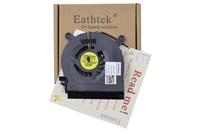 Eathtek Replacement CPU Cooling Fan for Dell Latitude E6500 YP387 Series