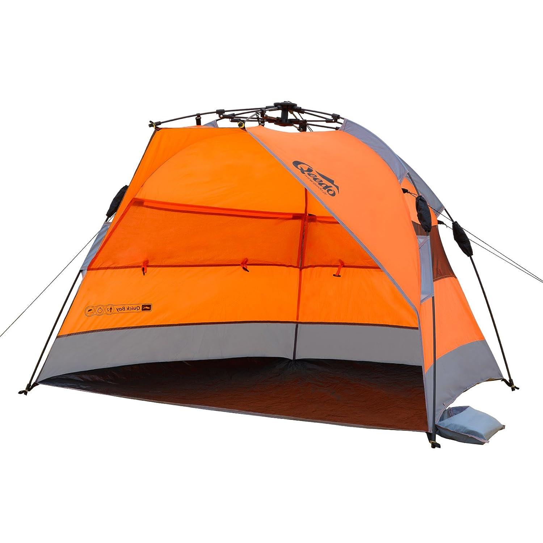 Qeedo Quick Bay Tente de Plage Anti UV Quick-Up-System