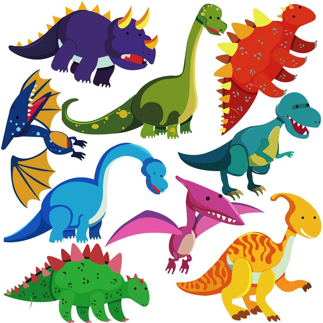 Vinilo Decorativo Pared [7SSBWQ7P] dinosaurios jurasicos