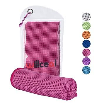 Amazon.com: Willceal toalla de enfriamiento, toalla fresca ...