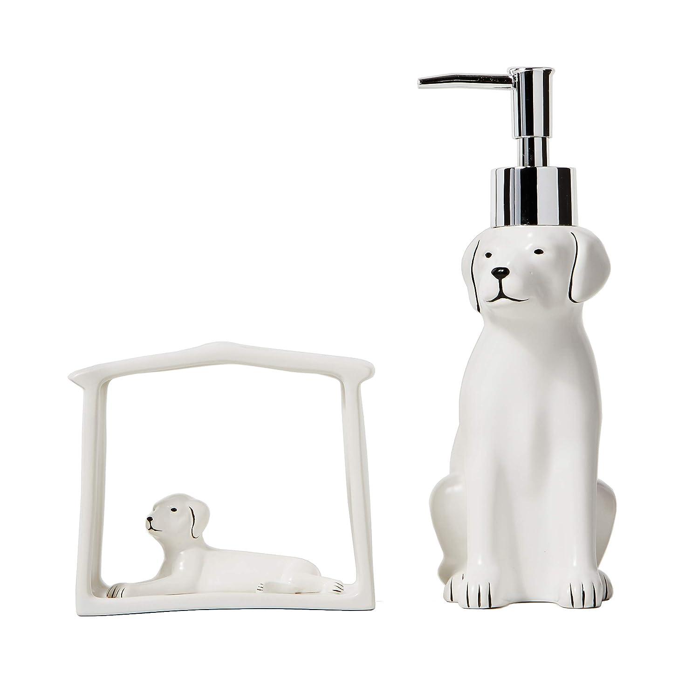 White Fur Ever Friends Bath Towel SKL HOME by Saturday Knight Ltd