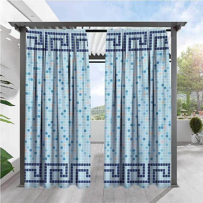 Cortina de privacidad para exteriores para Pergola, diseño ...