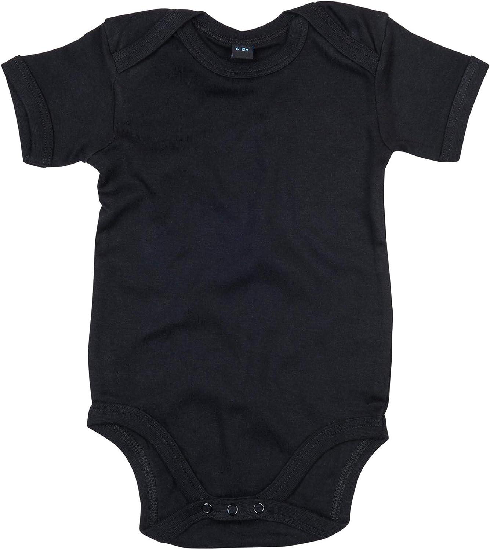 Babybugz Baby Bodysuit Blank Plain Babygrow Cobalt Blue 3 BZ010
