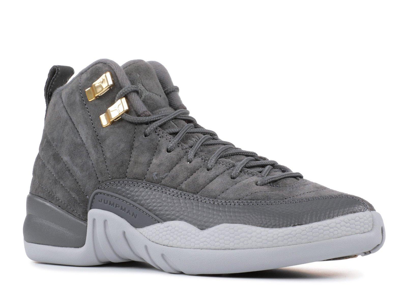 purchase cheap d222a bb485 Galleon - NIKE Jordan Air 12 Retro (BG) Big Kids Shoes Dark ...