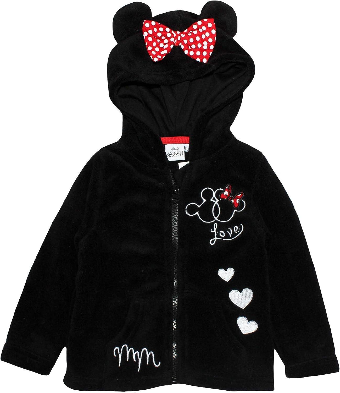 Disney Minnie Mouse - Sudadera con Capucha y Cremallera, diseño de ...
