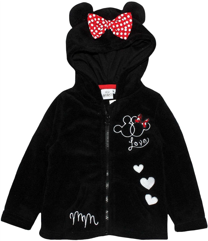 Disney Minnie Mouse dise/ño de Minnie Mouse Sudadera con Capucha y Cremallera