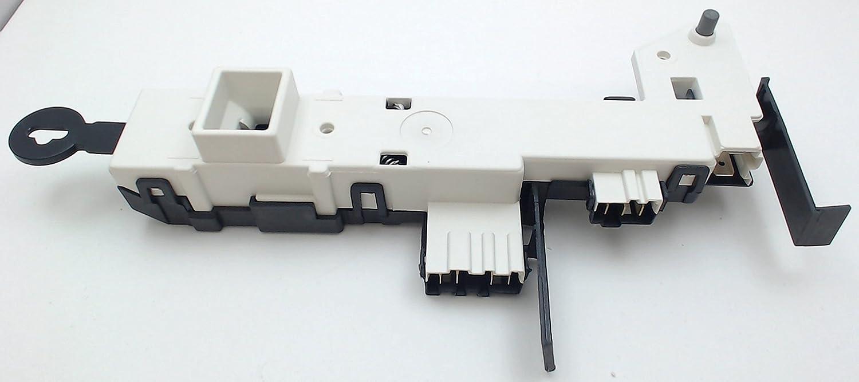 Samsung Oem Original Part Dc34 00024b Washer Door Lock And Latch Diagram Parts List For Kenmore Dishwasherparts Switch Solenoid Home Improvement