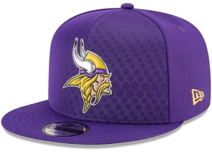 Amazon.com  NEW ERA NFL Minnesota Vikings 950 Rush Sideline Cap ... edc207fbca4