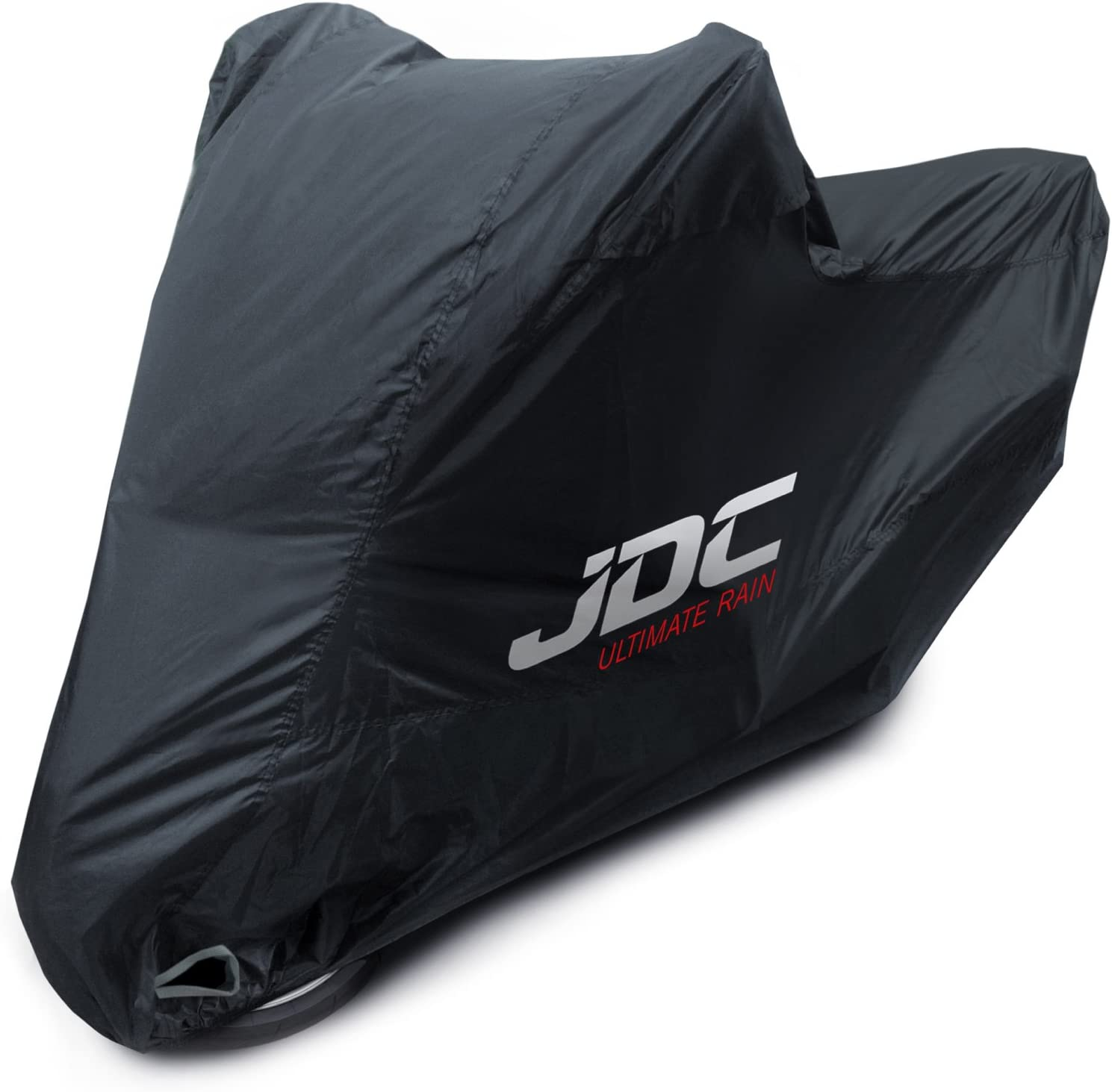 ULTIMATE RAIN - XL Tall Heavy Duty, Soft Lining, Heat Resistant Panels, Taped Seams JDC Motorcycle 100/% Waterproof Cover