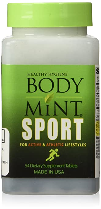 Body Mint Sport for Active and Athletic Lifestyles 54 tabs