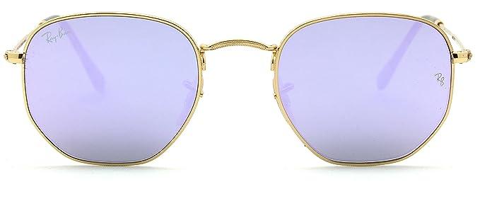 Ray-Ban RB3548N Hexagonal Flat Lenses Unisex Sunglasses 001 8O - 51mm 97afc75562