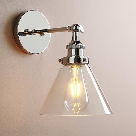 Vintage Edison Industrial acero inoxidable Buyee para ...
