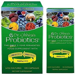 Dr. Ohhira's Probiotics, Original Formula, 100 Caps with Bonus 10 Capsule Travel Pack
