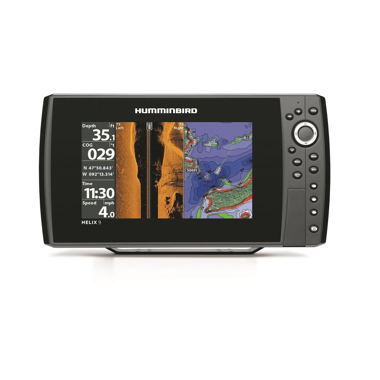 Humminbird 409950-1 Helix 9 SI 480x800 Sonar with Dual Beam GPS, 9''