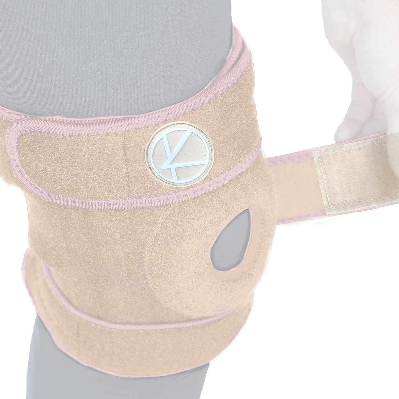 Amazon.com: Nvorliy Plus Size Hinged Knee Brace Dual Strap