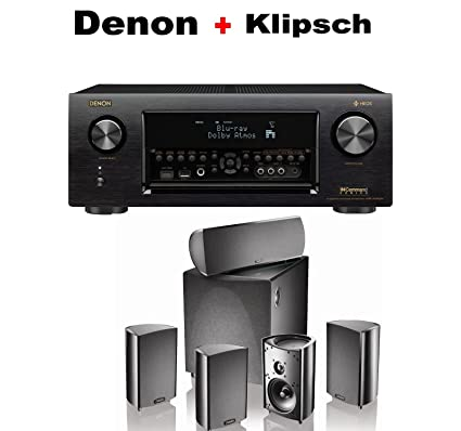 Amazon com: Denon AVR-X4400H 9 2 Channel AV Receiver with Wi