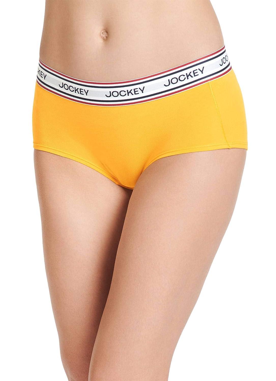 dfd1b4fa984 Jockey Women s Underwear Retro Stripe Hip Hugger at Amazon Women s Clothing  store