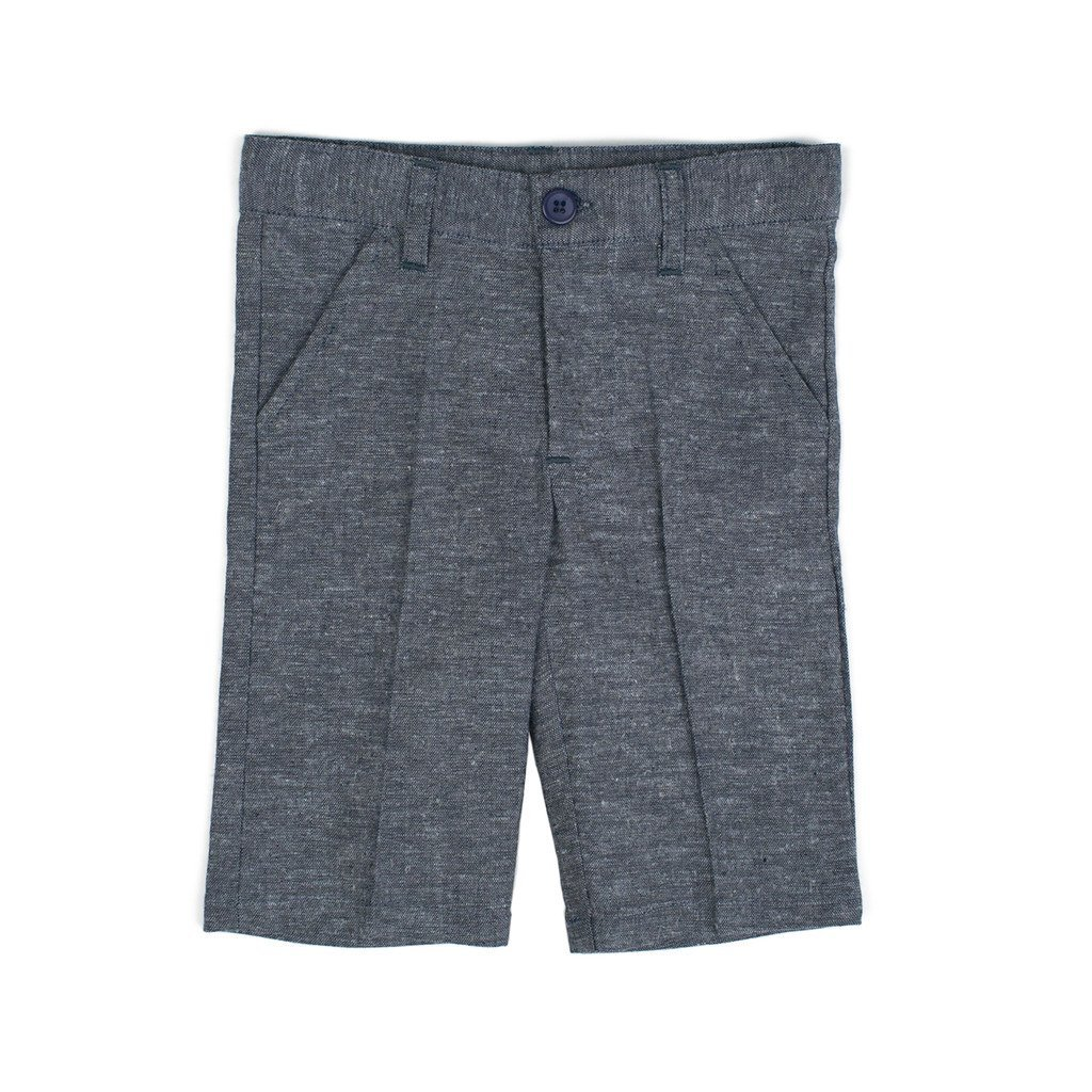 Classic Blue Plaid Linen Shorts 3 Years P302-3 P/&P Baby Boy Short Spring Pants