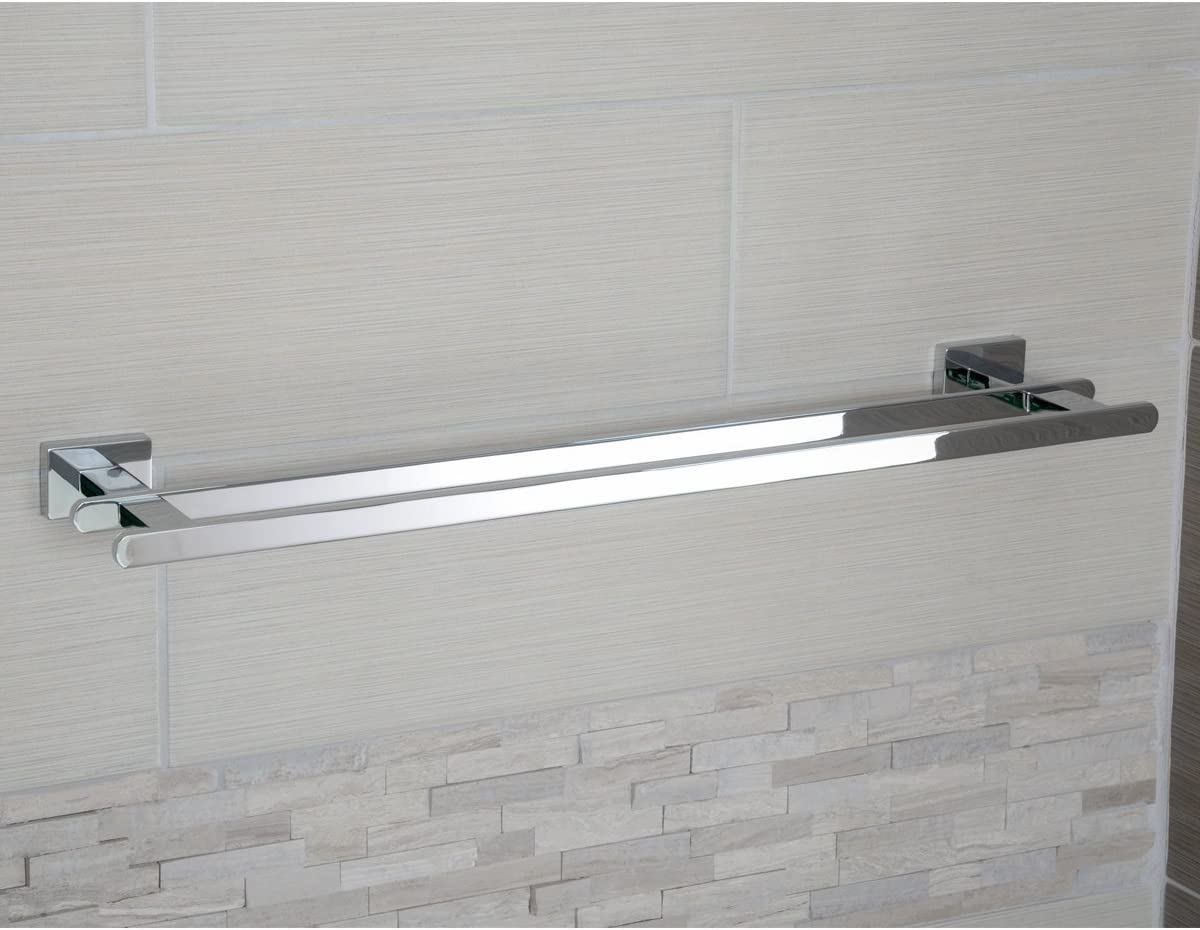 Basics AB-BR820-PC Toilet Paper Holder Euro, Polished Chrome: Home Improvement