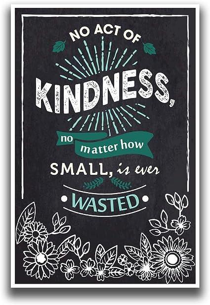 Ningún acto de bondad Póster | (por kg papel brillante de póster (30,5 cm | calidad Premium | jsc127: Amazon.es: Oficina y papelería