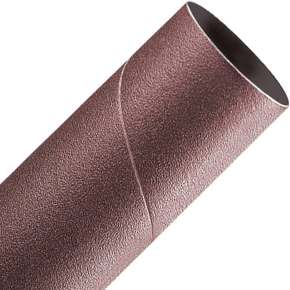 A&H Abrasives 878680, 10-pack, Sanding Sleeves, Aluminum Oxide, Spiral Bands, 2x4-1/2 Aluminum Oxide 80 Grit Spiral Band