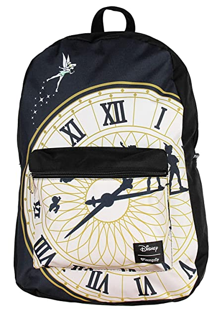 Disney Tinkerbell Backpack Peter Pan Clock Print