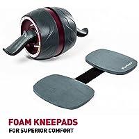 YAH rueda abdominal para fitness AB rodillo entrenamiento gimnasio entrenamiento muscular ejercicios equipo accesorios rodillo abdominal
