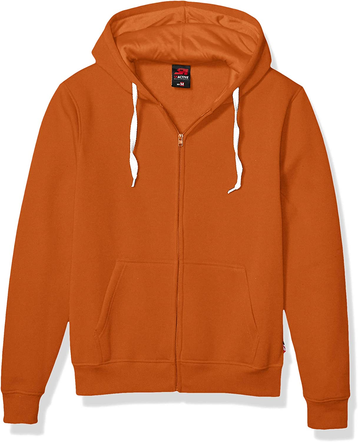 Southpole Men's Active Basic Hooded Full Zip Fleece in Premium Fabric: Clothing